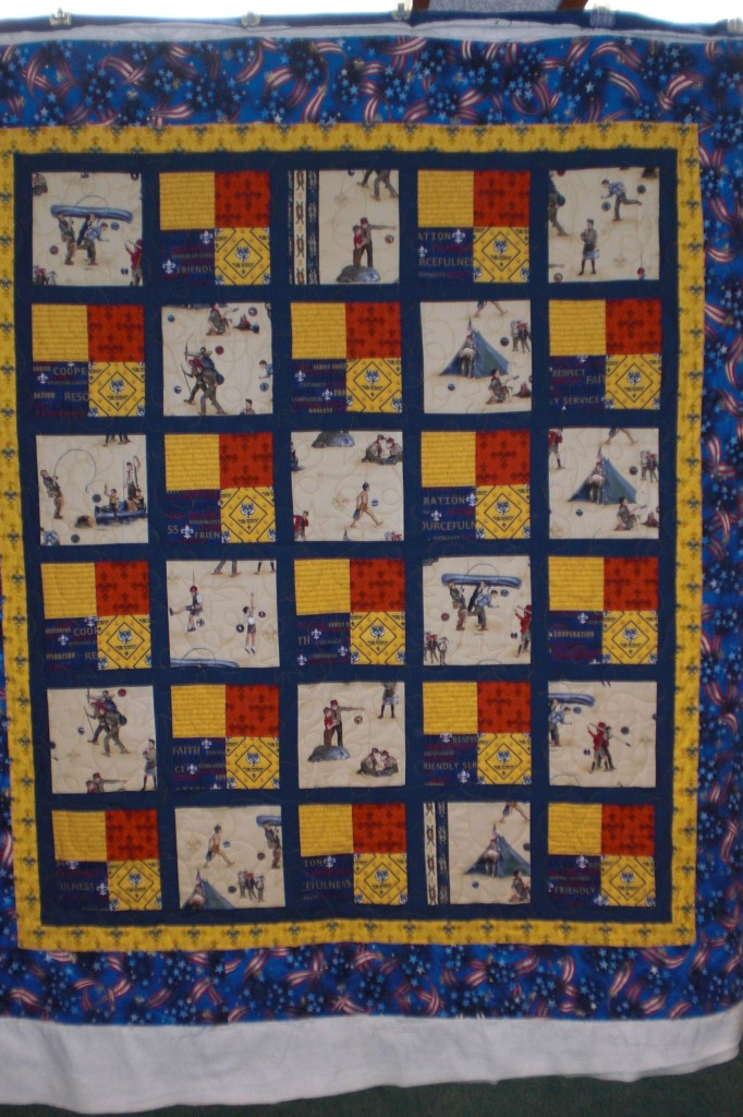Betty s Boy Scout quilt