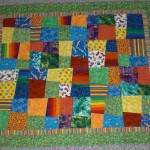 Selah&#039;s quilt with similar fabrics