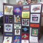 Patty's T-Shirt Quilt 2