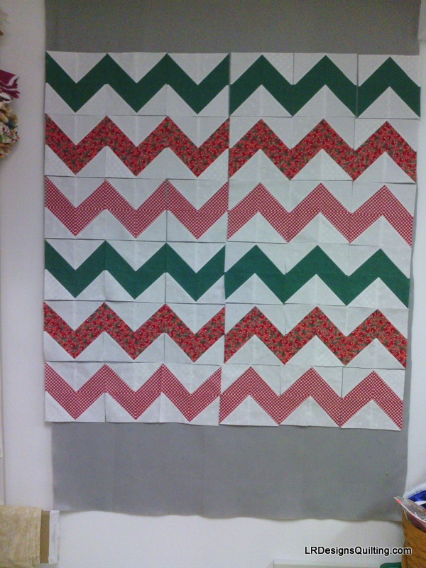 ugly fabric challenge design wall monday