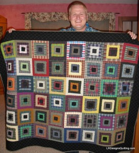 Chris's Stacked Squares Quilt