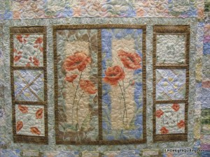 Poppy panels detail
