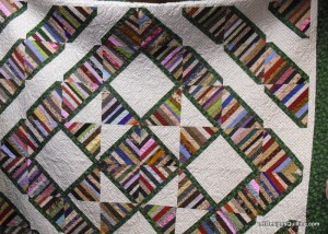 Deb's Strippy Quilt