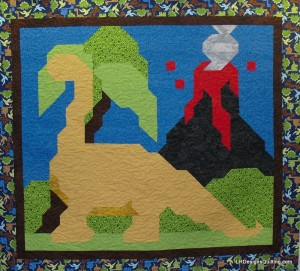 Dinosaur Quilt