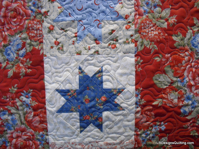 Happy Memorial Day Flag Of Valor Quilt