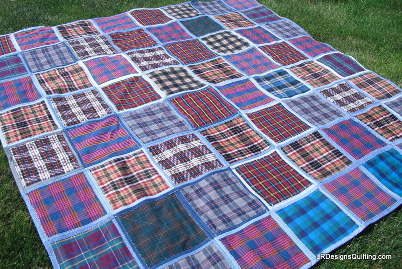 Denim Flannel quilt
