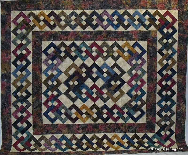 Mary T Island Chain Raffle quilt
