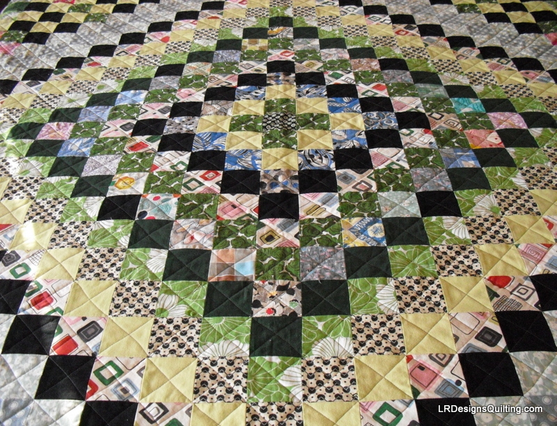 Vintage Trip Around The World And New Quilt Easy Video